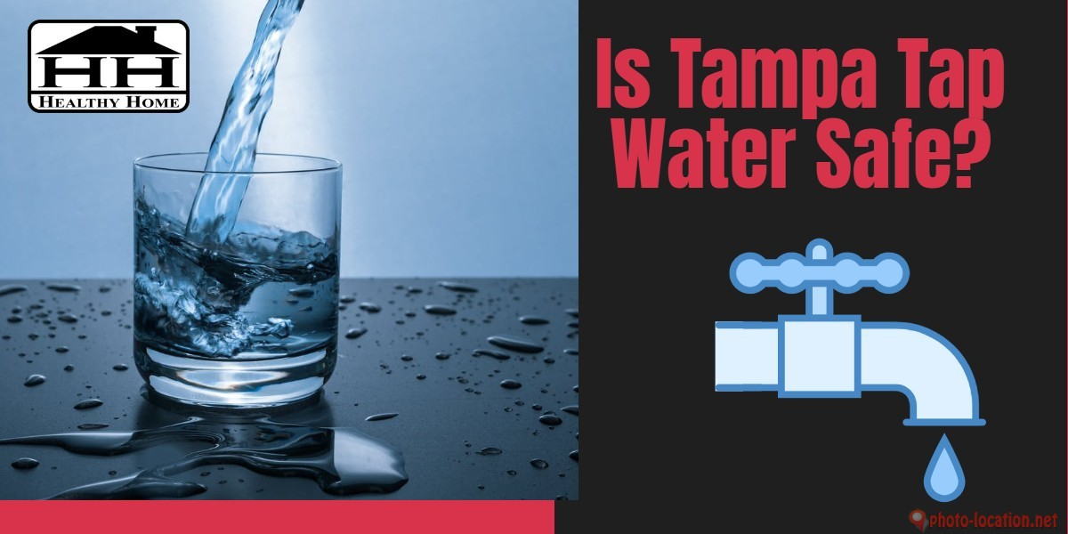 glass of Tampa tap water